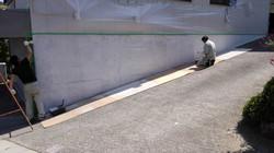SREM塗装施工中