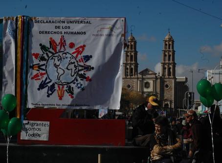 Crónica | Conmemoran día de los derechos humanos con manifestación
