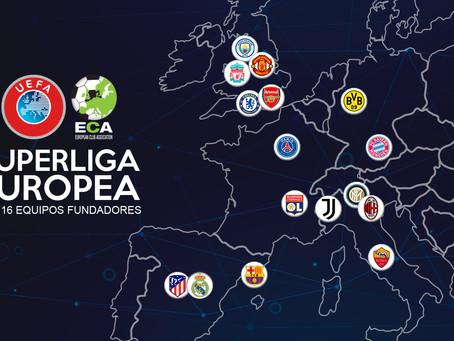 Columna |El Palco de Tuda|La Superliga Europea:creación, caída y repercusiones en el fútbol mundial