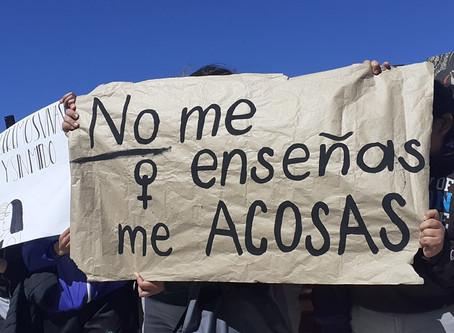 Alumnos del Bachilleres 9 se manifiestan por problemas de acoso sexual