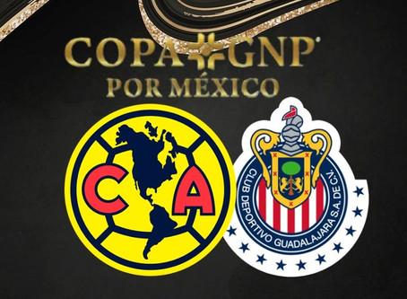 Se disputará el Clásico Nacional en semifinales de la Copa GNP por México