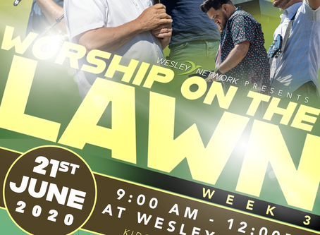Worship on the Lawn - Semana 3