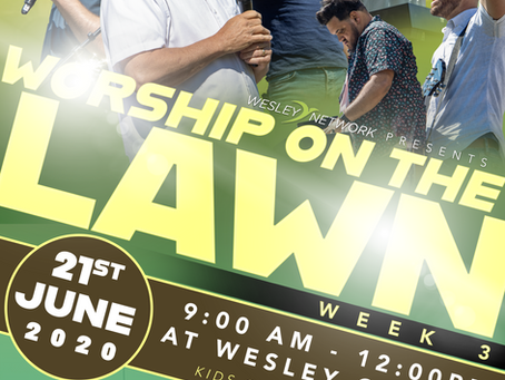 Worship on the Lawn - Semana 3