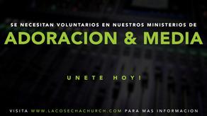 Voluntarios necesitados   Volunteers Needed