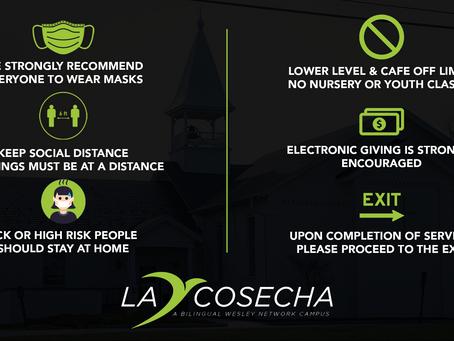 COVID Procedures | Procedimientos de COVID