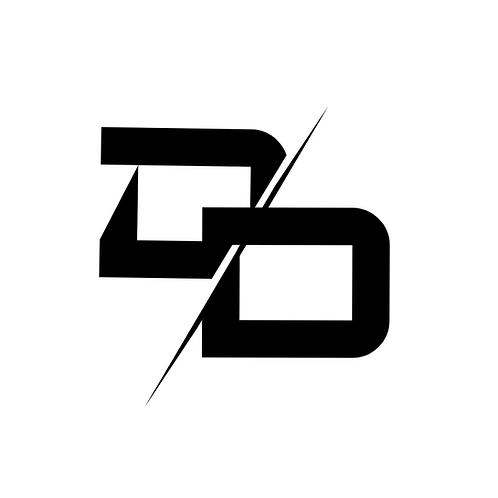 DD Logo Sticker