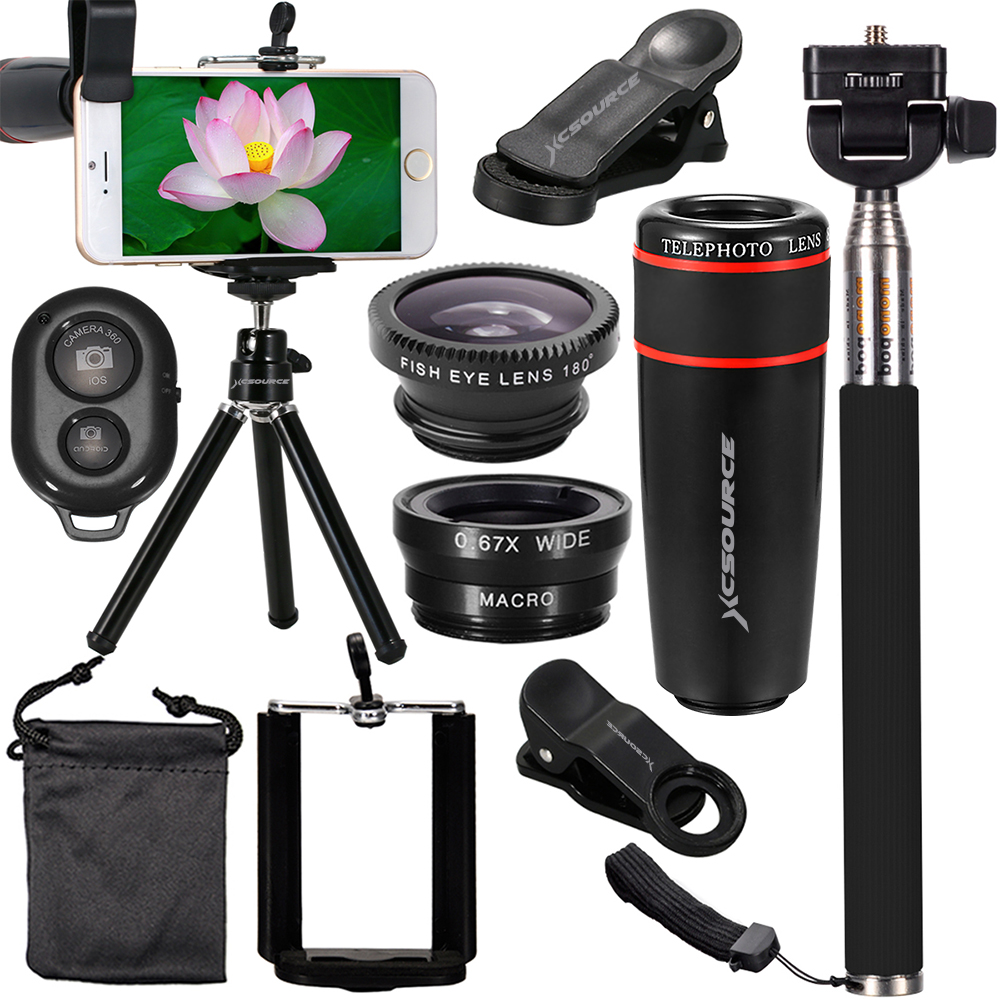 b42caf8e716261 XC311 Xcsource 10in1 Camera Lens Kit | xcsource