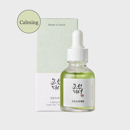 Calming Serum : Green tea+Panthenol