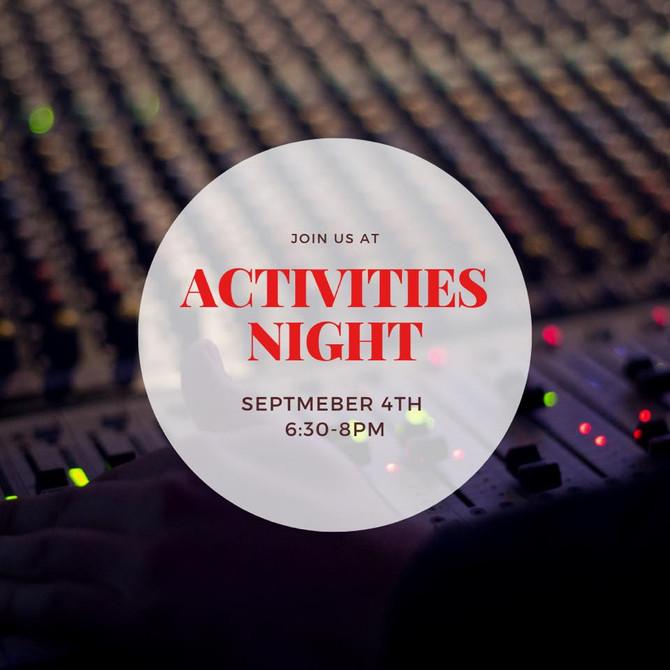 Activities Night