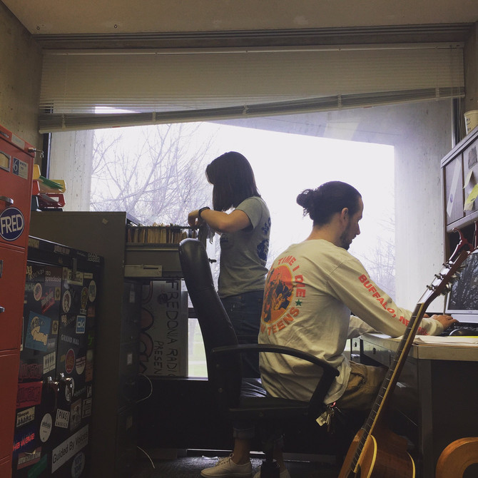 A Look into the Radio Station
