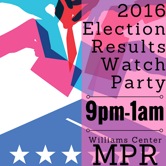 2016 Election Results Watch Party