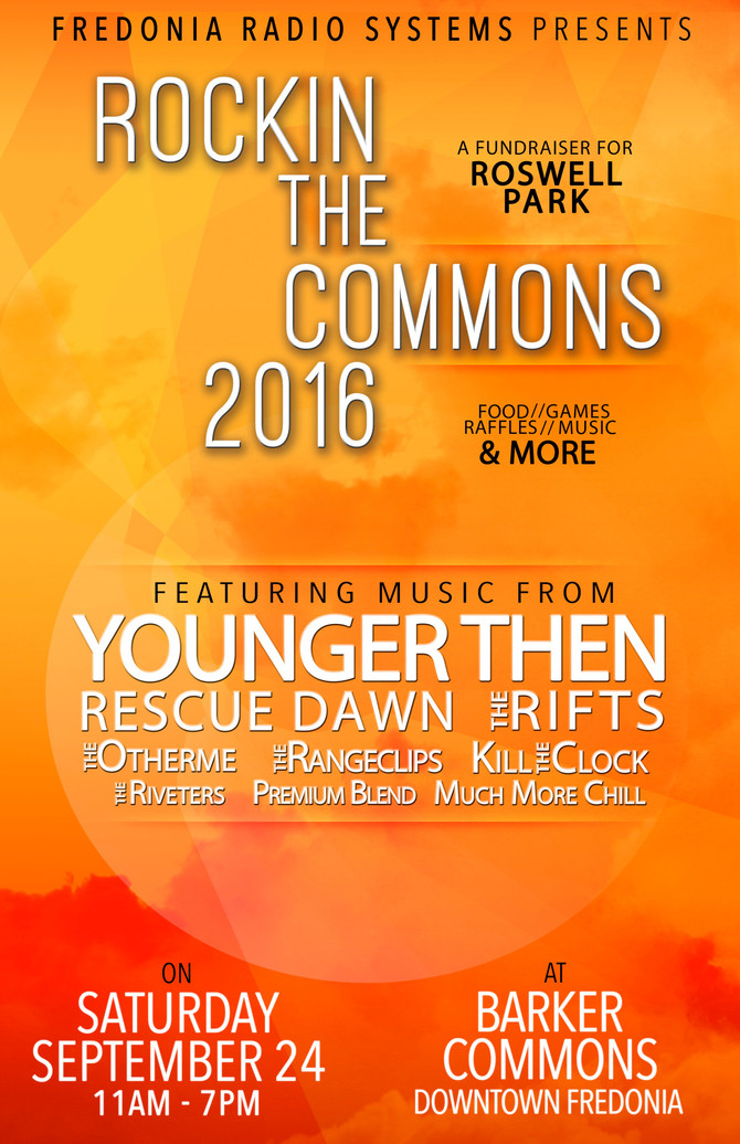 Rockin' The Commons 2016!