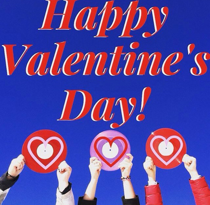 Happy Valentine's Day From Us to You!