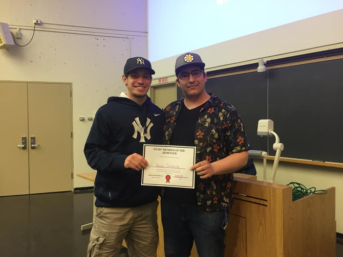 Staff Member of the Month/Semester