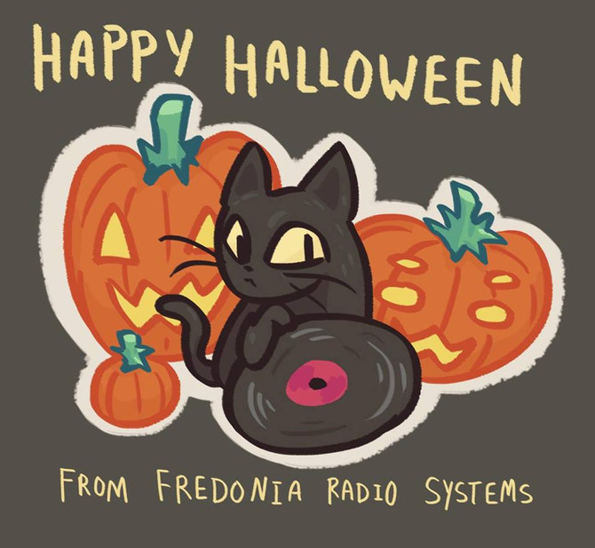 Have a Happy Halloween, lovely listeners!