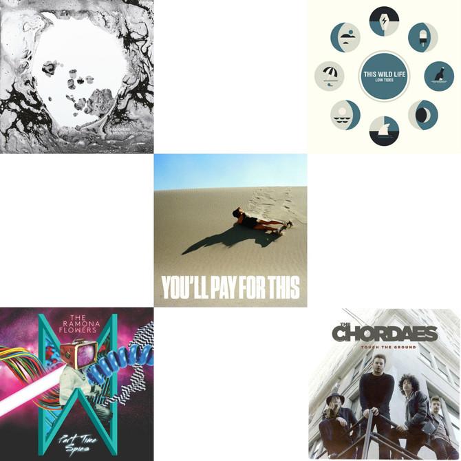 TOP FIVE ARTISTS OF THE WEEK: