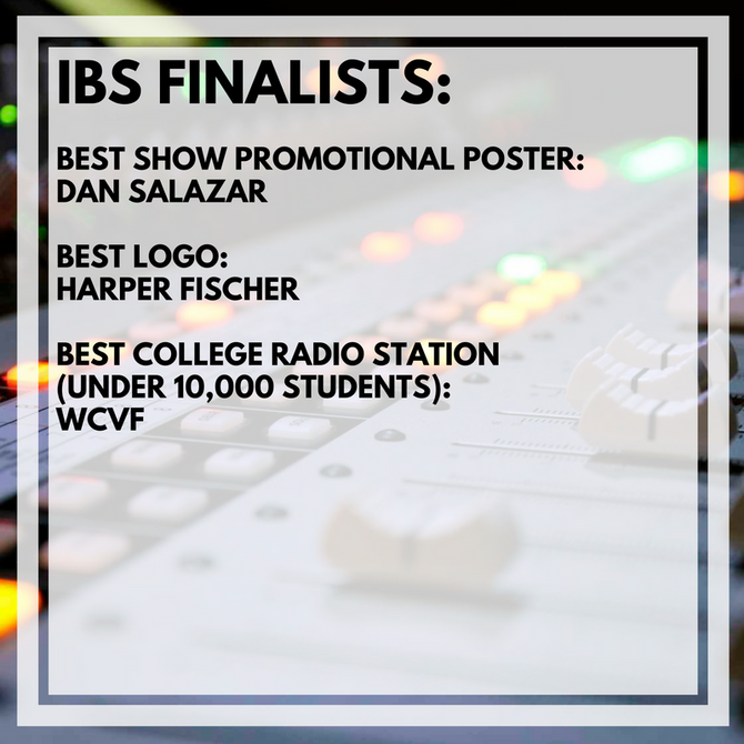 Intercollegiate Broadcasting System Finalists Continued