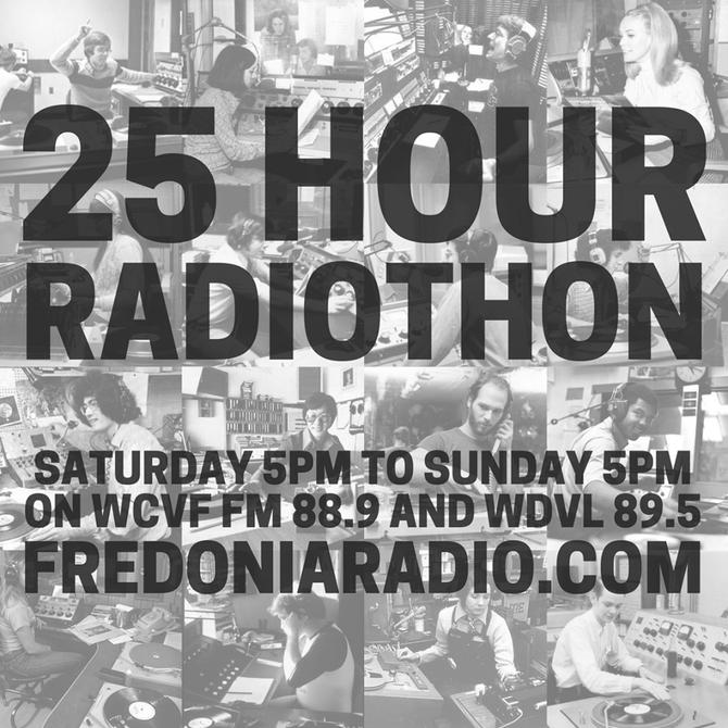 25 Hour Radiothon!