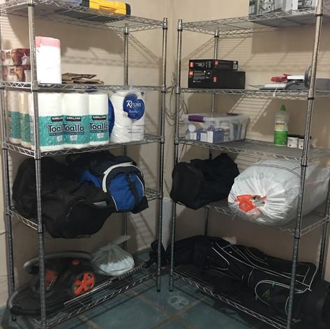 Organización de cuarto de lavado (Transformación)
