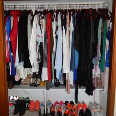 Organización de closet (Transformación)