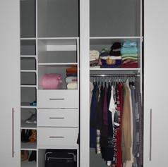 Diseño y organización de closet