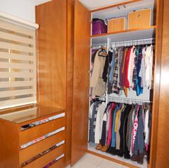 Diseño y organización de vestidor