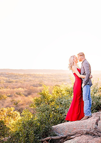 Enchanted Rock Engagement Session