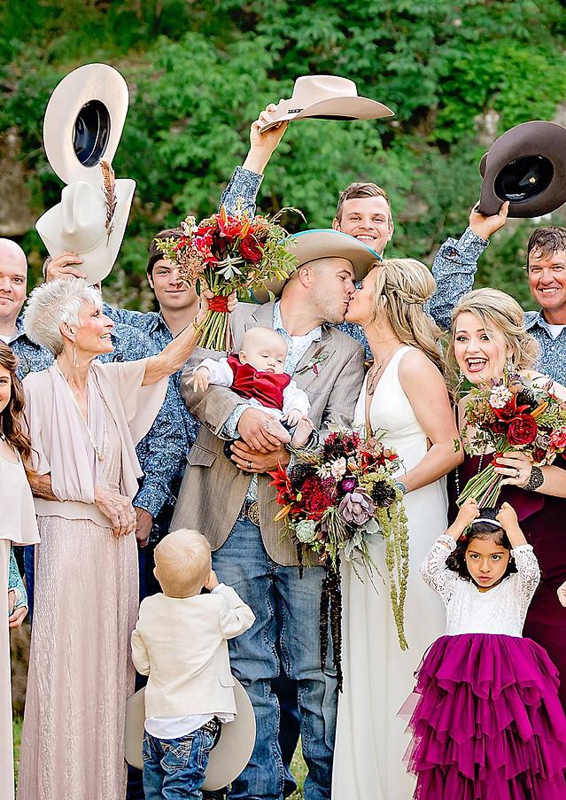 Chelsea + Trentin Wedding