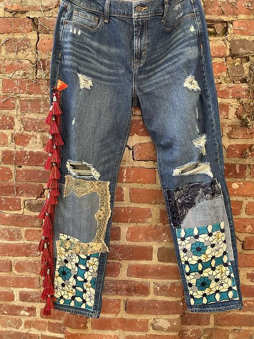 Mellibellished Boyfriend Jeans