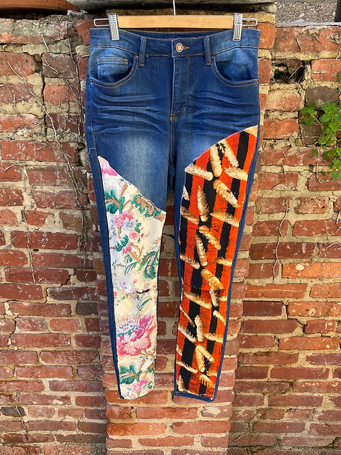 Mellibellished Skinny Jeans (full length)