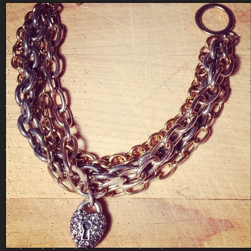 SOLD: Lock & Chain