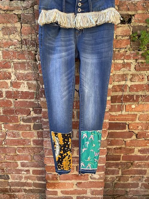 Mellibellished Skinny Jeans (ankle)