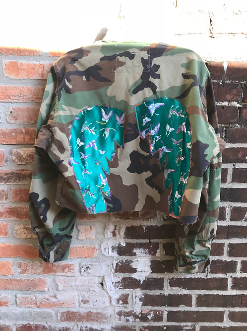 "SOLD ""Imperial Angel Wings"" Camo Jacket"