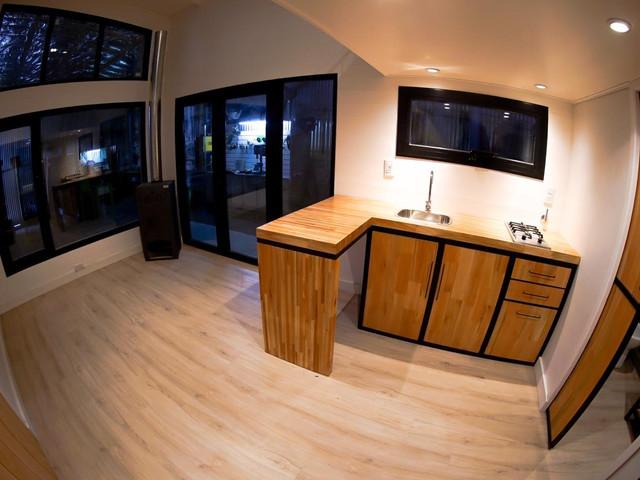 Vista living - cocina