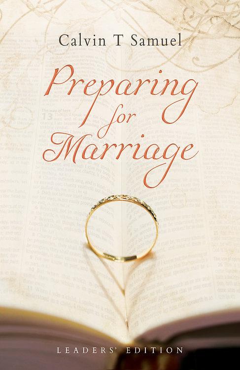 Preparing for Marriage - Leaders