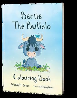 Bertie the Buffalo Colouring Book.png