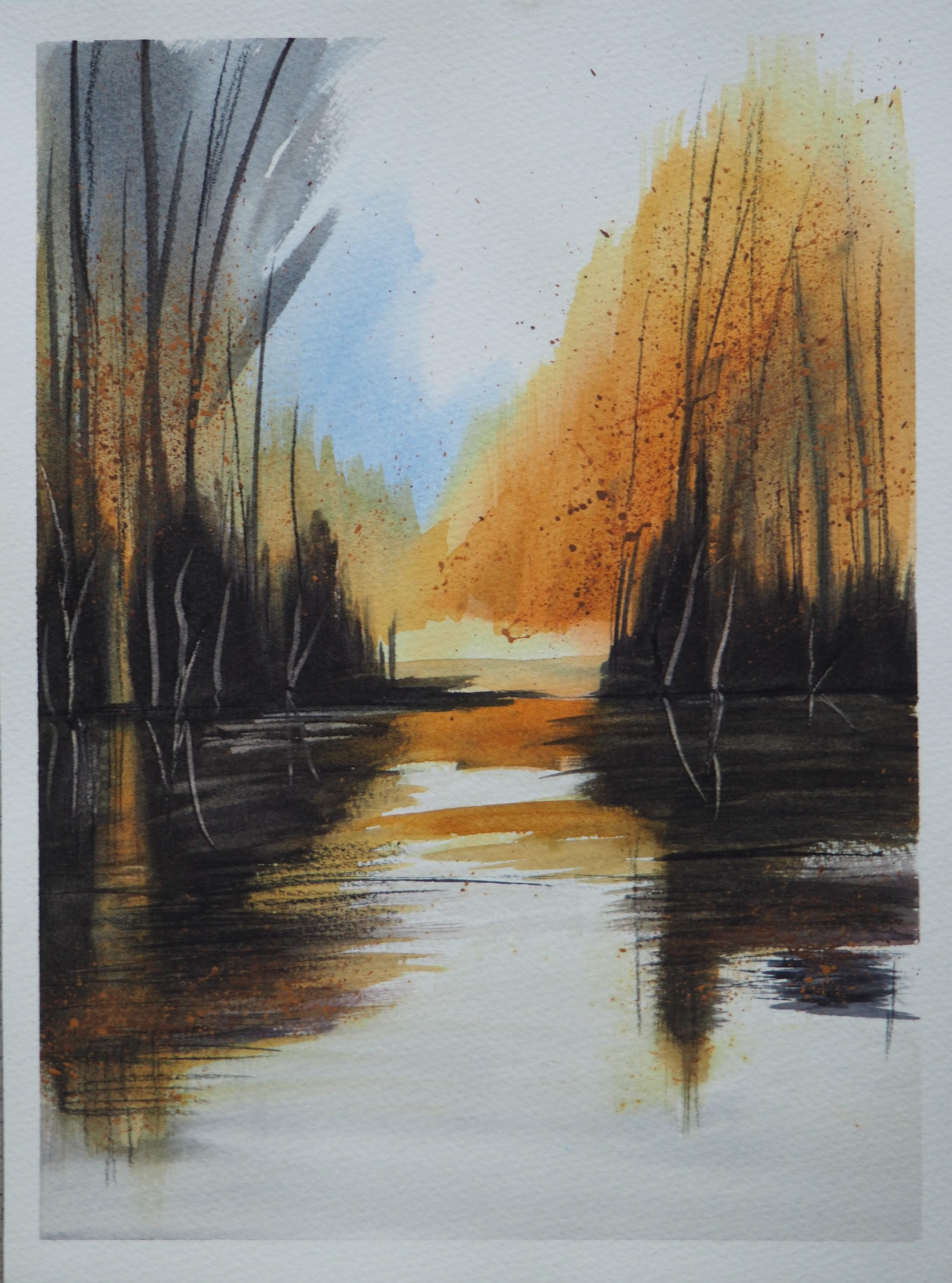 D'après une aquarelle de Bei An Cao