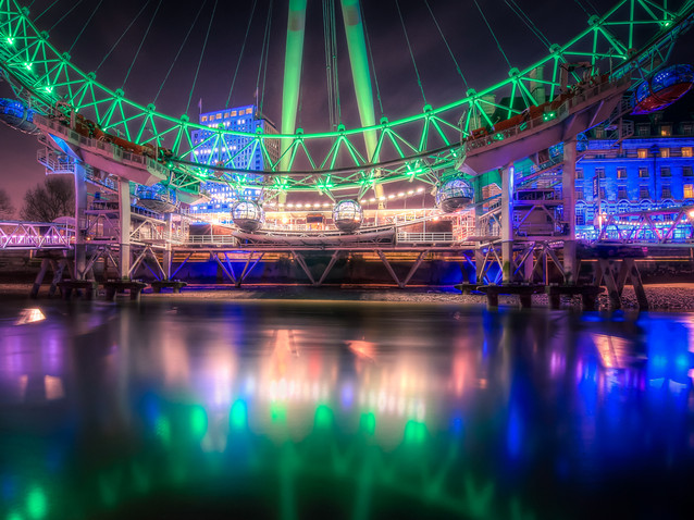 St. Patrick's Day at the London Eye