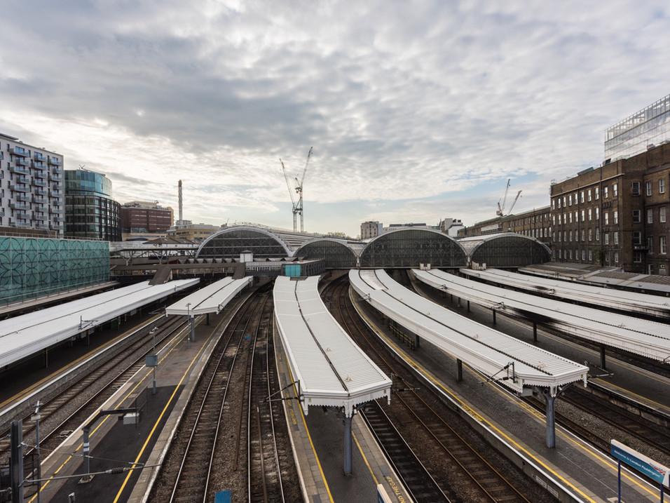 Paddington Station, empty during Lockdown