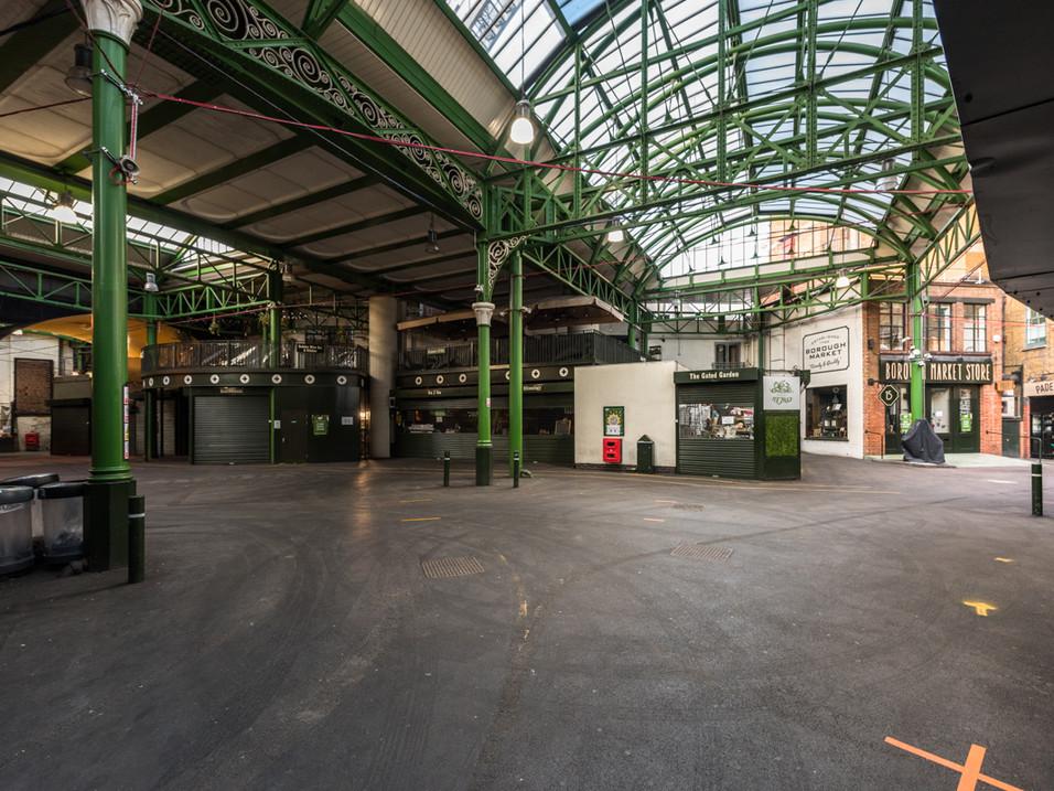 Borough Market in Lockdown