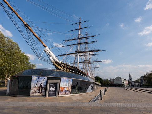 The Cutty Sark in Lockdown