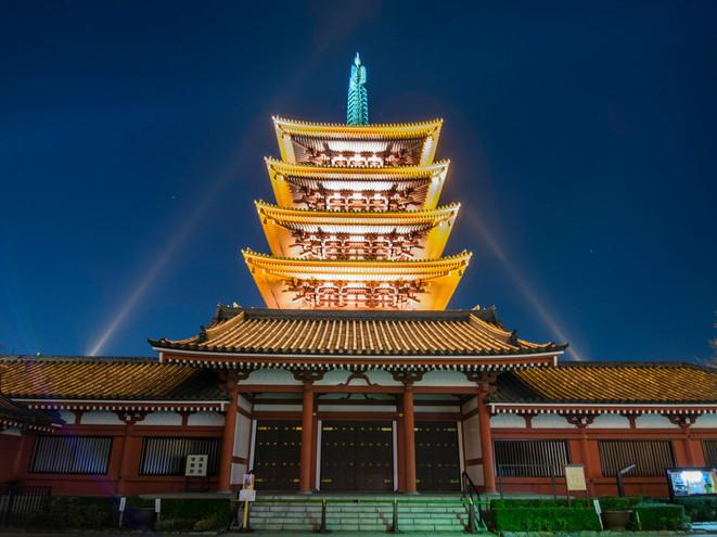 Asakura temple, Tokyo