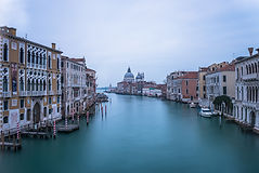 The view from Ponte del'Accademia, Venic