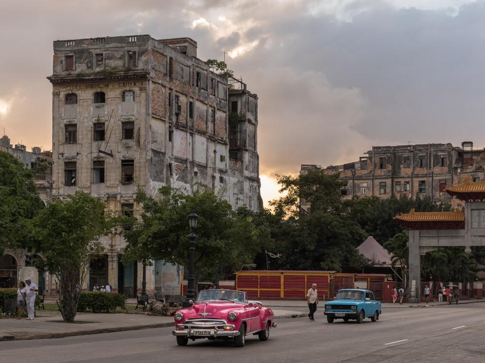 Leaving Chinatown, Havana
