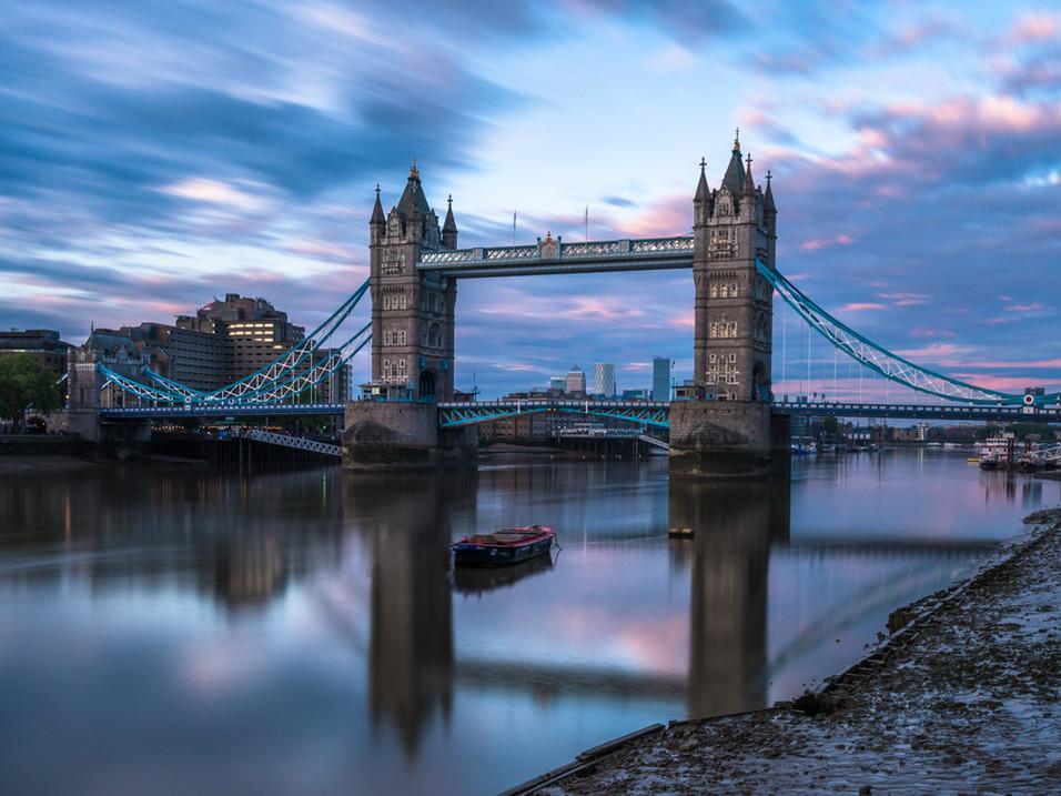 Tower Bridge reflections