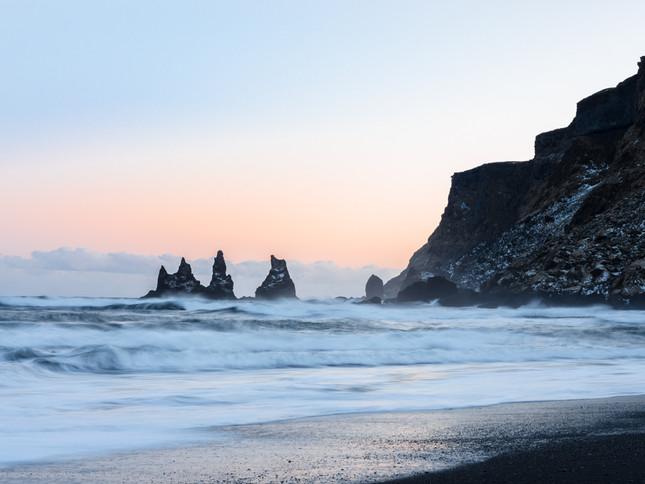 Reynisfjara black sand beach, Iceland