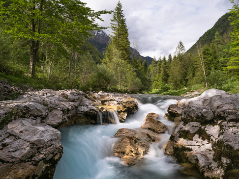 Rapids in the Slovenian mountains