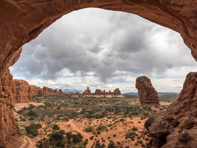 An arch frames the National Park.jpg