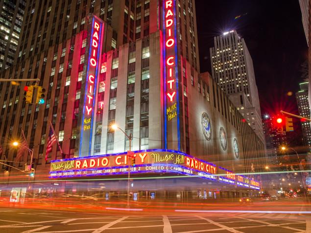 Radio City lights