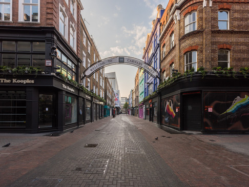 Carnaby Street in Lockdown